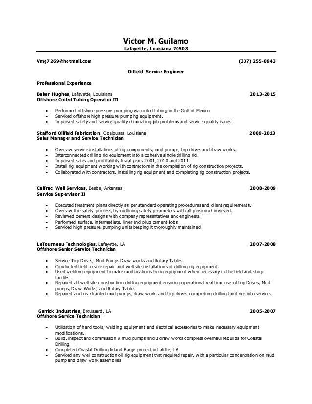 vmg resume 2