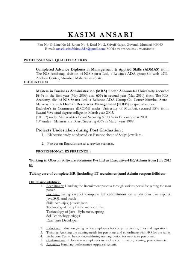 Resume          MyPerfectResume com
