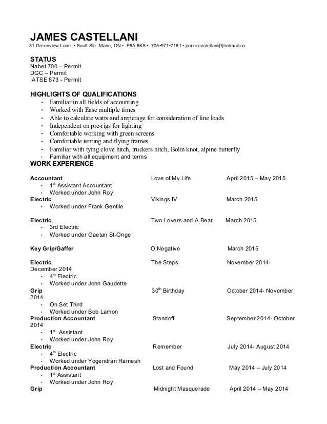 grip resume