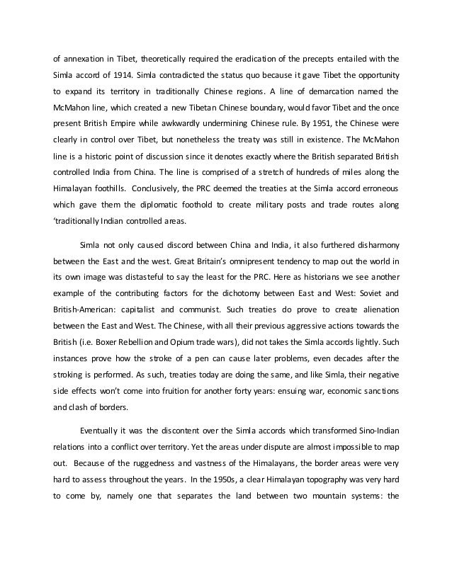 Great britain and India relations Essay