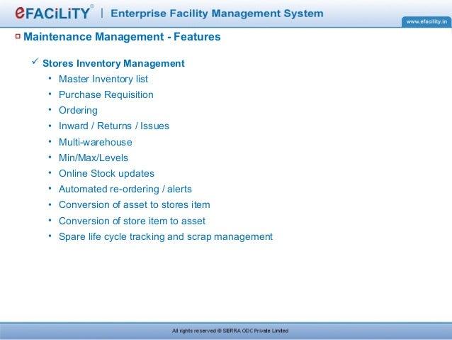 Efacility Presentation