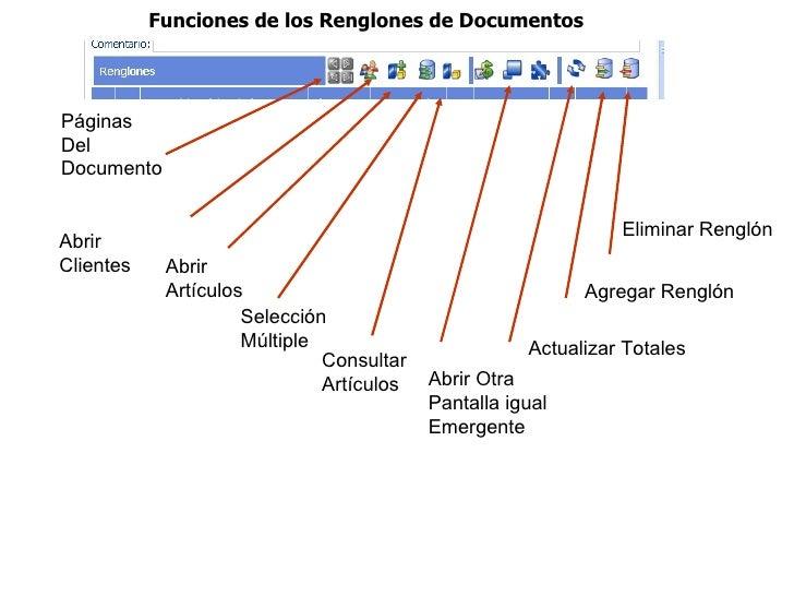 Funciones de los Renglones de DocumentosPáginasDelDocumento                                                               ...