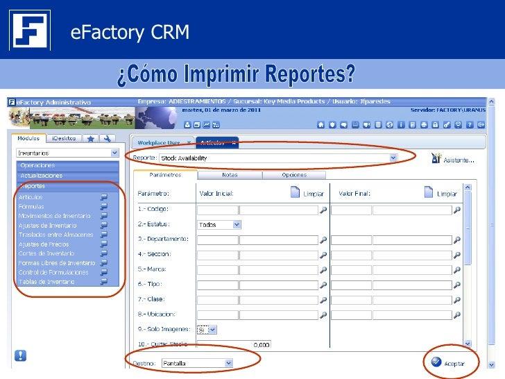 eFactory CRM