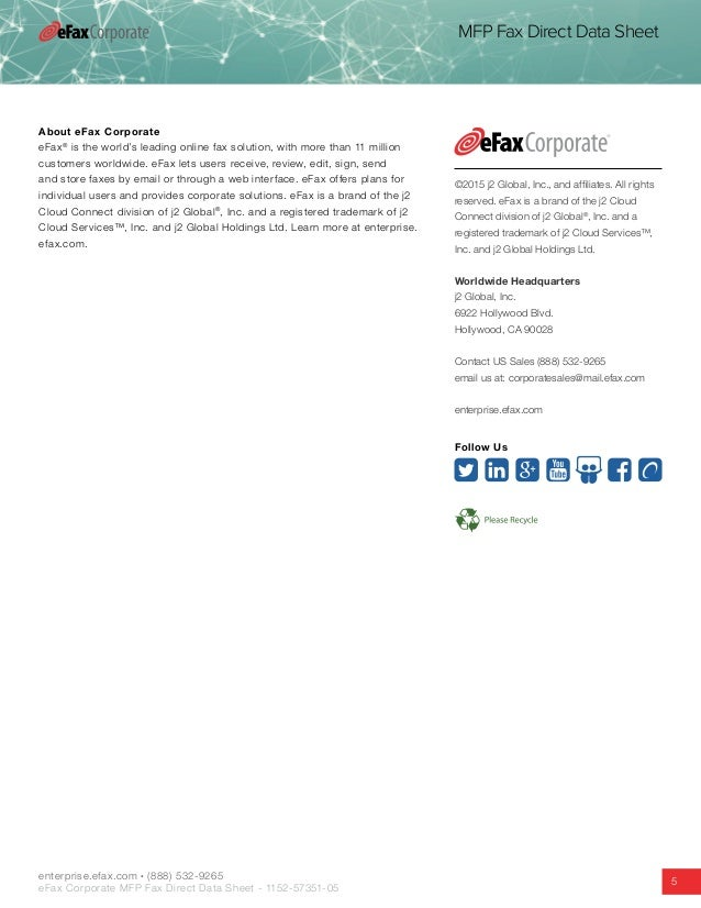 eFax Online Fax Service Review