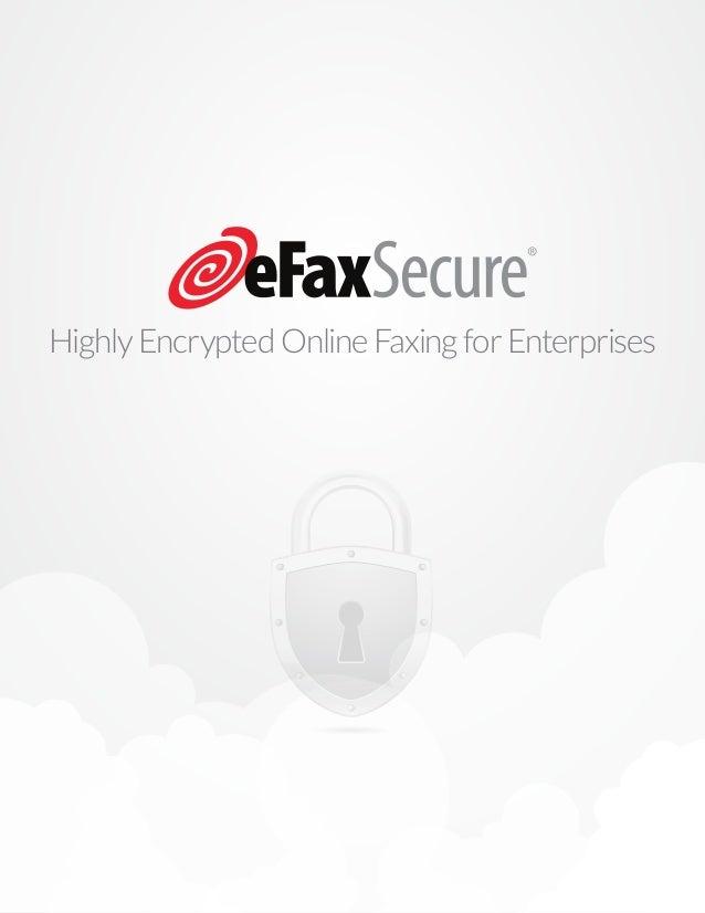 HighlyEncryptedOnlineFaxingforEnterprises