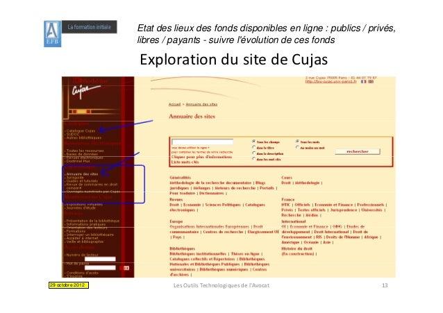 Etat des lieux des fonds disponibles en ligne : publics / privés,                  libres / payants - suivre lévolution de...