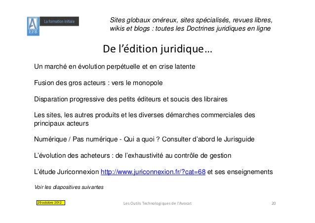 Sites globaux onéreux, sites spécialisés, revues libres,                                  wikis et blogs : toutes les Doct...