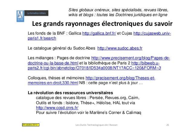 Sites globaux onéreux, sites spécialisés, revues libres,                            wikis et blogs : toutes les Doctrines ...