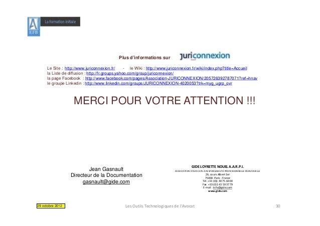 Plus d'informations sur      Le Site : http://www.juriconnexion.fr/       - le Wiki : http://www.juriconnexion.fr/wiki/ind...