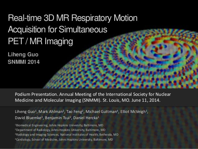 Real-time 3D MR Respiratory Motion Acquisition for