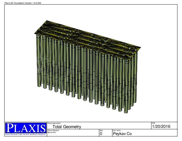SOFTWARE > PLAXIS > Plaxis 3D Foundation | Plaxis