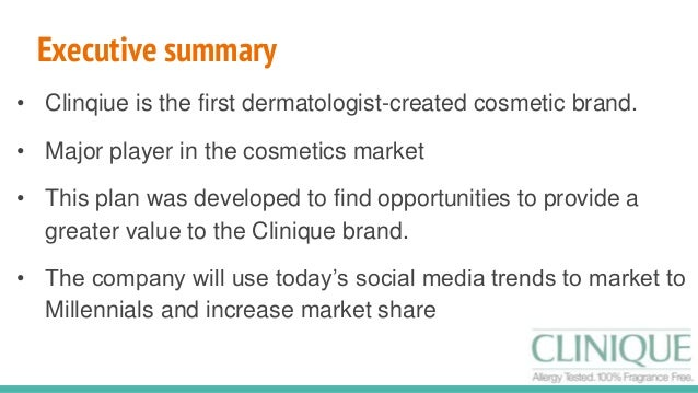 marketing plan cosmetics Cosmetics retailer, inc intends to maintain an extensive marketing campaign that will ensure maximum visibility for the business in its targeted market below is an overview of the marketing strategies and objectives of the company.
