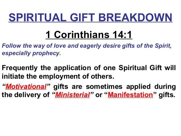 SPIRITUAL GIFT ...