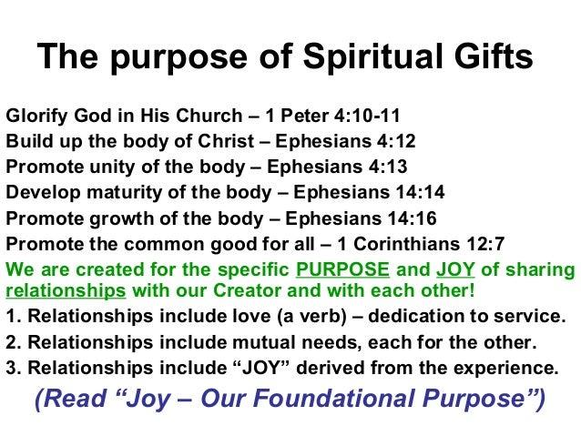 Spiritual Gifts: Their Purpose & Power