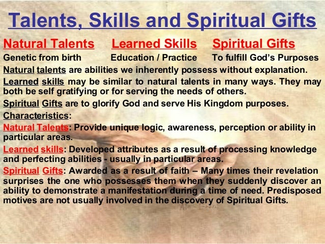 my skills and talents essay Learn more about presenting your skills now for other ways to recognize your talents and skills fill out the first section of the career workshop manual.