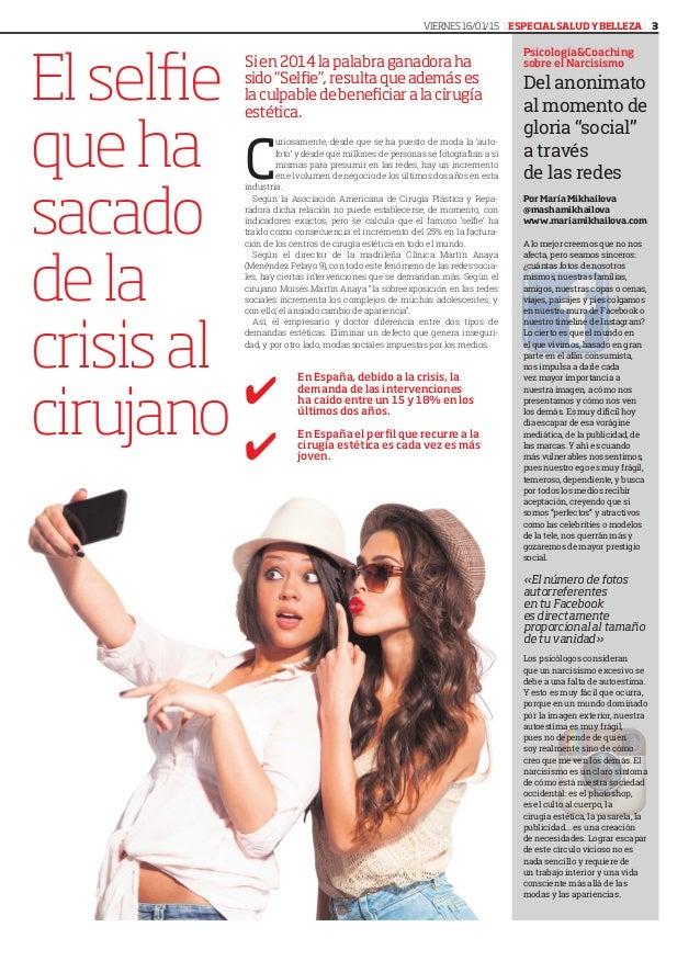 """Elselfie queha sacado dela crisisal cirujano Sien2014lapalabraganadoraha sido""""Selfie"""",resultaqueademáses laculpabledebenef..."""