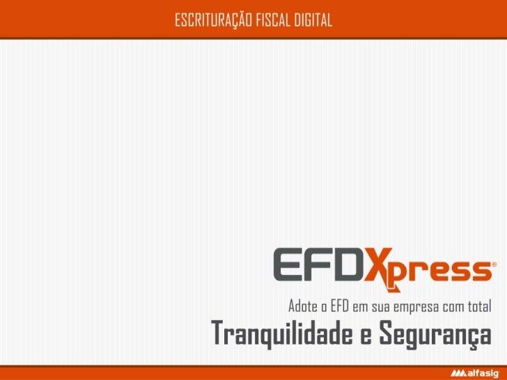 EFD | EFDXpress