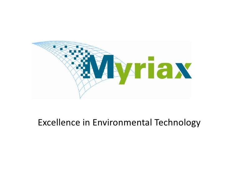 Excellence in Environmental Technology