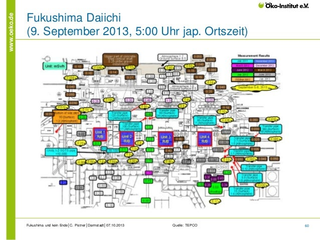 www.oeko.de  Fukushima Daiichi (9. September 2013, 5:00 Uhr jap. Ortszeit)  Fukushima und kein Ende│C. Pistner│Darmstadt│0...