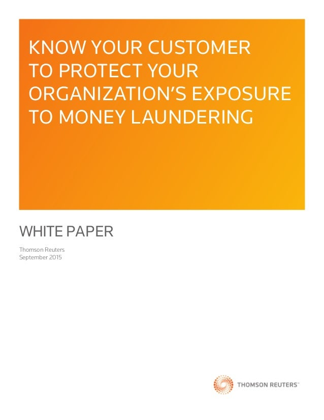 Money laundering master thesis