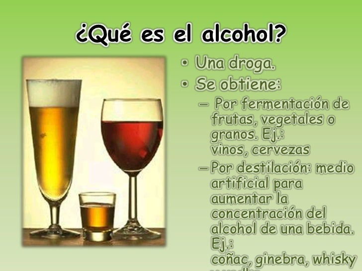 La codificación del alcohol spb
