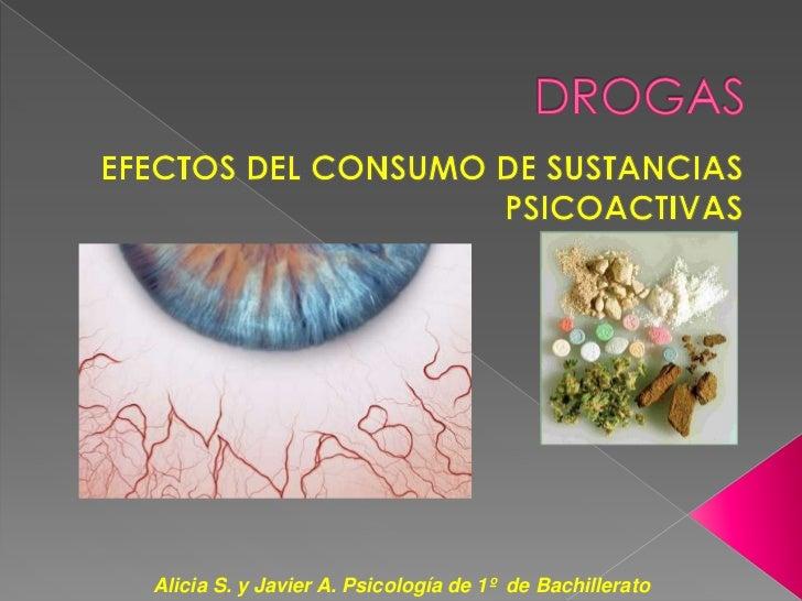 Alicia S. y Javier A. Psicología de 1º de Bachillerato