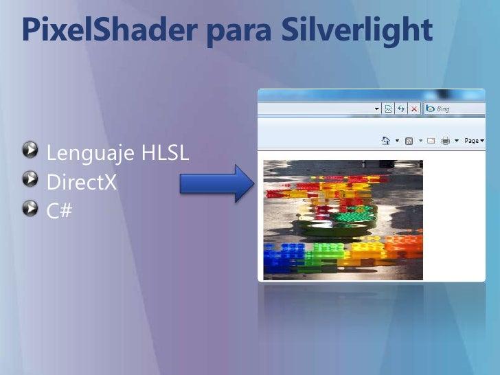 HLSL => C || C++ || C# ¿?<br />The High Level Shader Language or High Level Shading Language (HLSL) is a proprietary shadi...