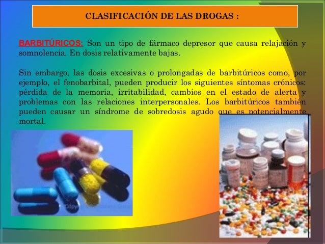 Efectos secundario de las drogas