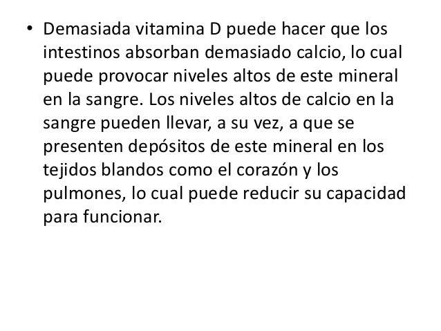 Efectos secundarios de la vitamina d Slide 3