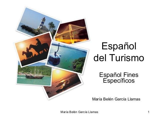 Español                     del Turismo                            Español Fines                             Específicos  ...