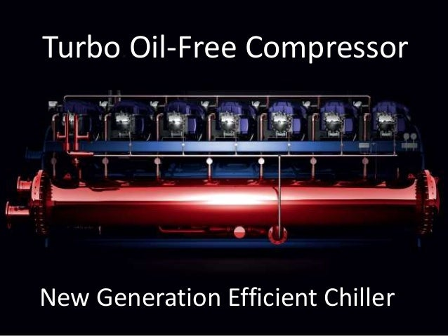 Turbo Oil-Free Compressor New Generation Efficient Chiller