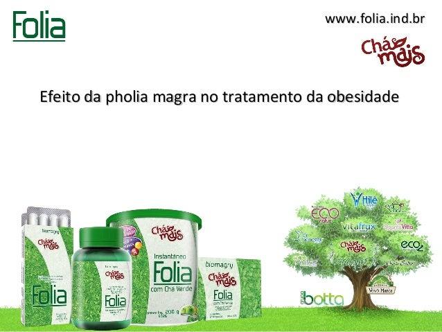 www.folia.ind.brEfeito da pholia magra no tratamento da obesidade