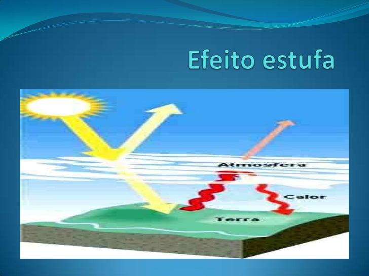 O mecanismo da efeito estufa   A radiação solar compreende radiações luminosas (luz) e radiações caloríficas (calor), em ...