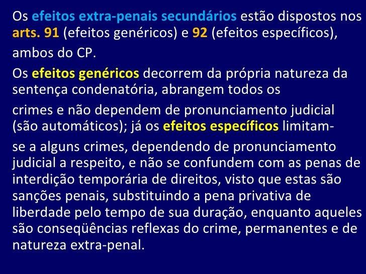 Efeitos da Condenação Slide 3
