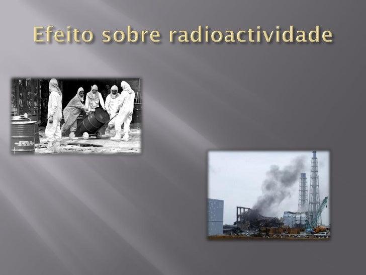      Em pequenas doses, a exposição à radiação    não oferece riscos à saúde: o corpo tem tempo    suficiente para substi...