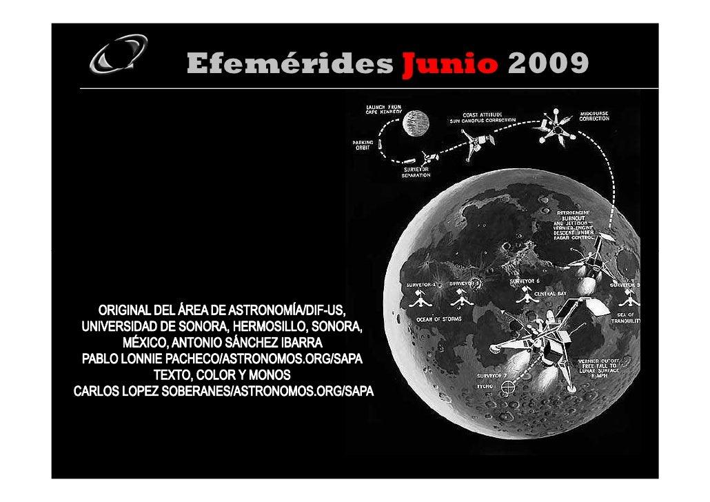 Efemerides Junio 2009 Carlos Raul