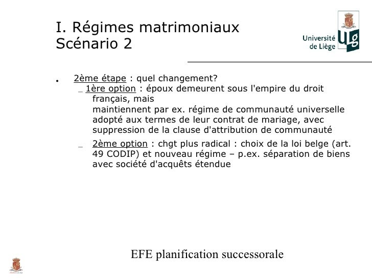 Planification Successorale Franco Belge