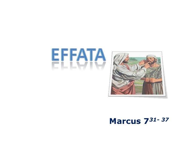 effata<br />Marcus 731- 37<br />