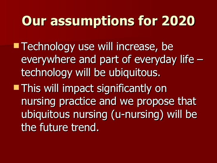 impact of nurses changing the future How has the role of nursing changed over the last 50 years edna astbury-ward   what is the impact of needing a degree to be a nurse.