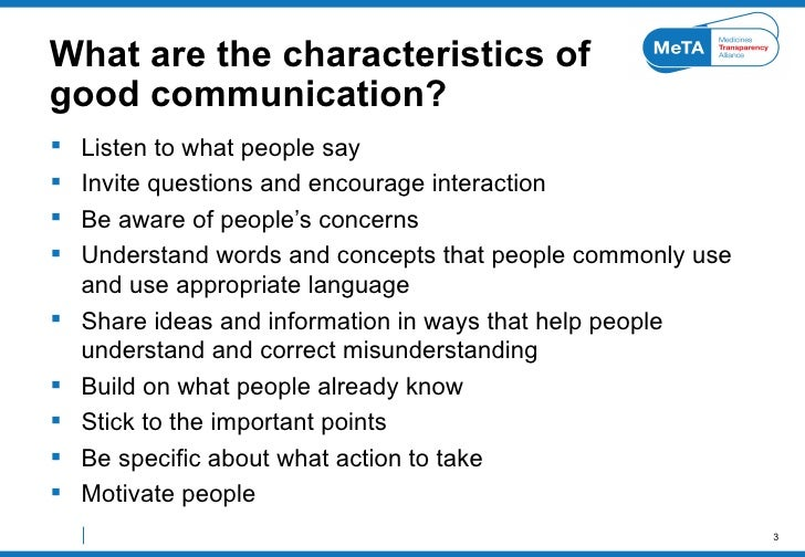 1 explain briefly the characteristics of communication Verbal communication:  there are two main categories of communication and they both bears their own characteristics communication types based on style and.