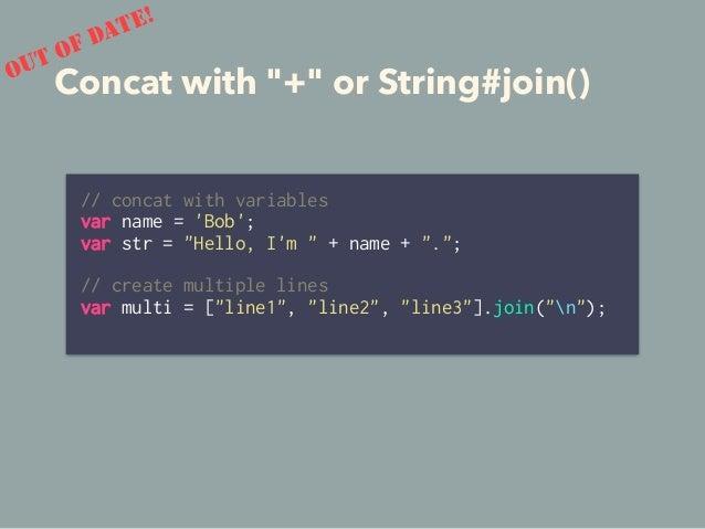 and… • Iterator • Spread Operator • Generator • Tail Call Optimization 78