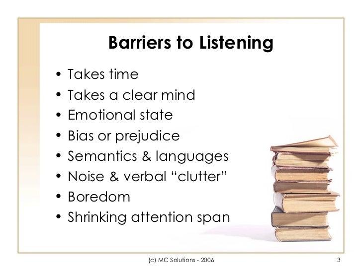 effective listening assignment