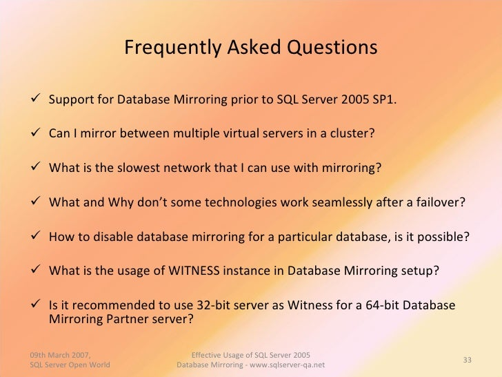 an introduction to the sql server 2005 Sql server authentication: the permissions to the client are granted based on the identity which was created and stored in sql server database note: the default installation of express edition only supports windows authentication.