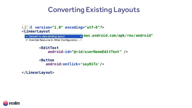 Effective Android Data Binding