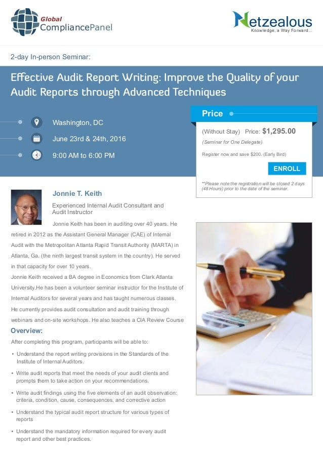 ​The Audit-Report Making Process