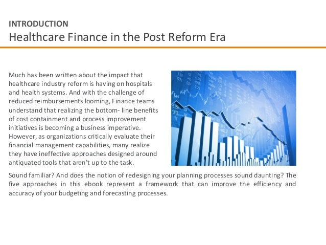 introduction to health finance Introduction to healthcare 1 financial management • discuss the role of financial management in health services introduction to healthcare financial.