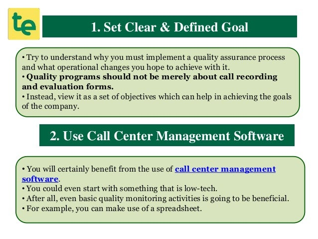 21 Best Practices For Effective Call Quality Monitoring