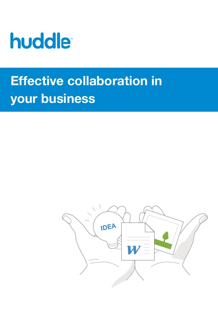 Effective collaboration inyour business