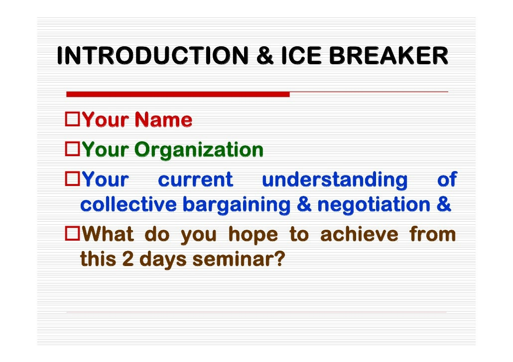 introduction to negotiation Michael wheeler's online negotiation training course teaches you how to secure   introduction to negotiation analysis: finding the zone of possible agreement.