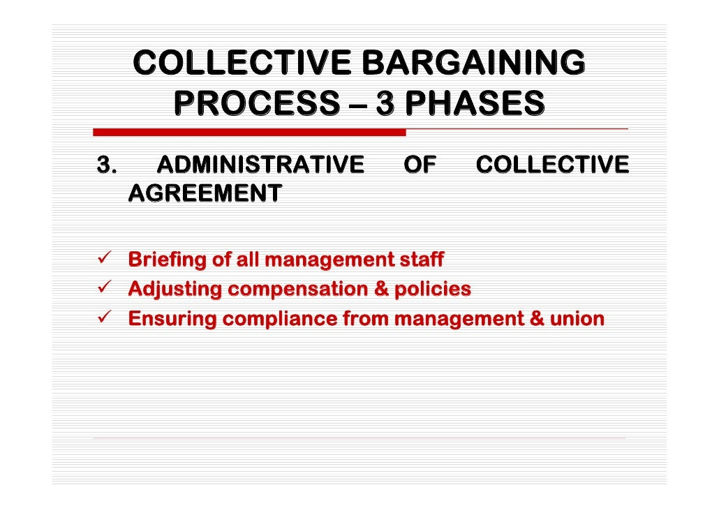 qualities of a good negotiator in the collective bargaining process